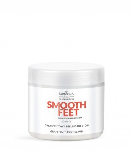 Farmona SMOOTH FEET EGZOTYCZNY PEDICURE SPA Grejpfrutowy peeling do stóp 690g