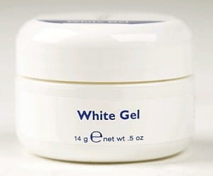 ESN White Gel 1/2oz 14g