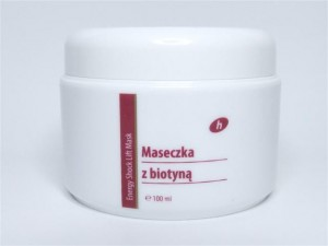 Maseczka z biotyną Energy Shock Lift Mask 100ml