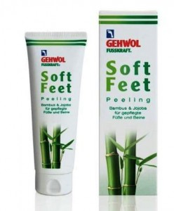 GEHWOL FUSSKRAFT SOFT FEET Peeling bambusowy 125 ml